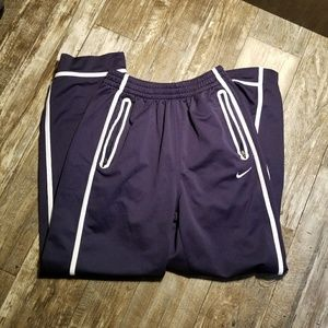 Nike blue sweat pants